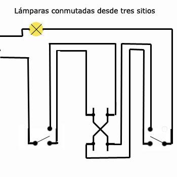 Lámparas conmutadas