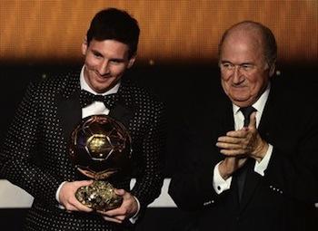 Messi 4º balón de oro